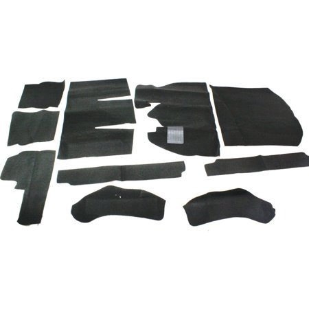 Nifty Products Carpet Kit - Newark Auto Products 862289 Carpet Kit For 1969-1972 Volkswagen Beetle