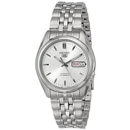 Seiko Series 5 Automatic Silver Dial Men's Watch (SNK355)