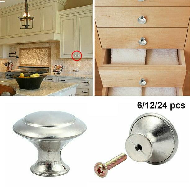 Drawer Handles 12 Drawer Pulls Dresser Handles Cabinet Door Handle Stainless Steel Handle Home Improvement Silver Drawer Handles