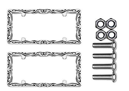 Cruiser Accessories 22135 Tribal II Chrome//Black