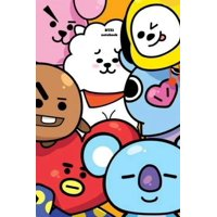 Kpop BTS BT21 PlanetBT NoteBook For Boys And Girls : College Ruled Lined Blank School or Personal Journal For ARMYs