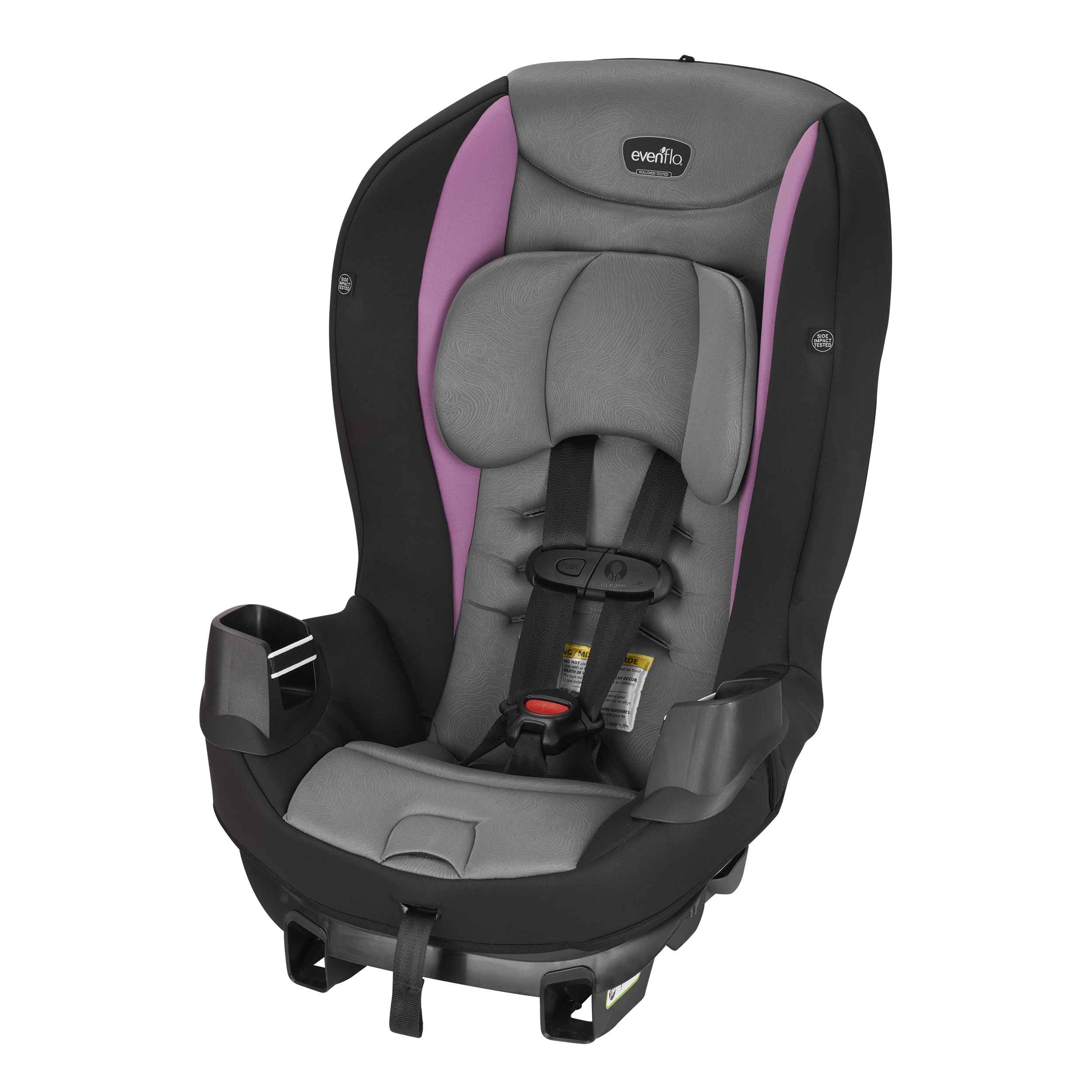 Evenflo Sonus Convertible Car Seat Amethyst