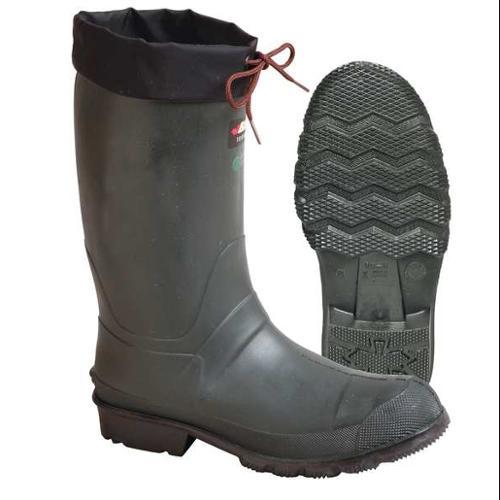 BAFFIN 8562-0000-394-10 Midcalf Boots,Mens,10,Drwstring,Grn,1PR
