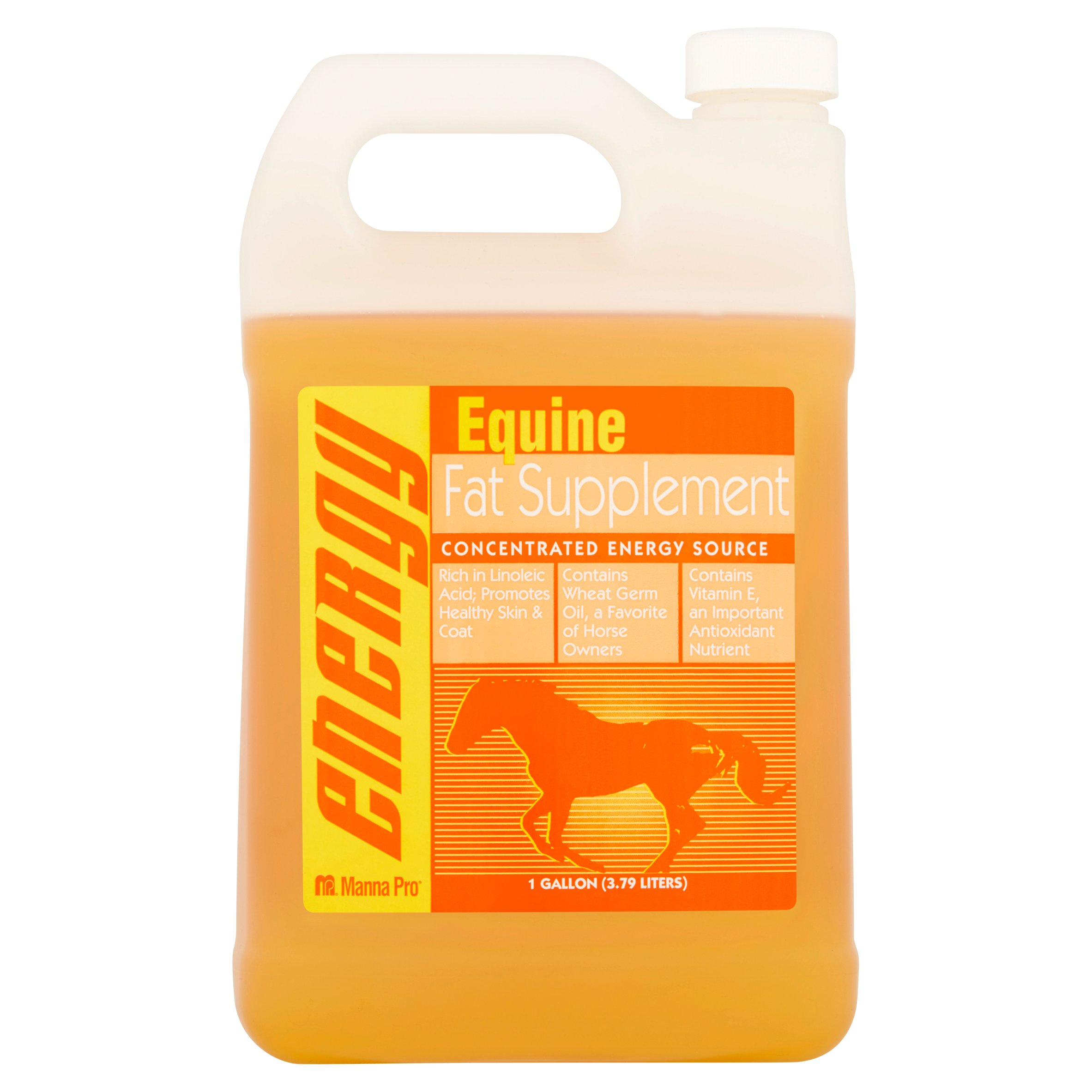 Manna Pro Concentrated Energy Source Equine Fat Supplement, 1 gallon