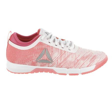 Reebok Speed Her Cross Training Shoe - Palepink/Acid Pink/Whiter/Silver - Womens - 6.5 (Speed Training Shoes)
