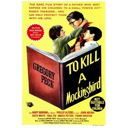 To Kill a Mockingbird POSTER (27x40) (1963) (Style B)
