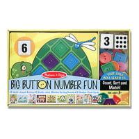 Children's Melissa & Doug Big Button Number Fun