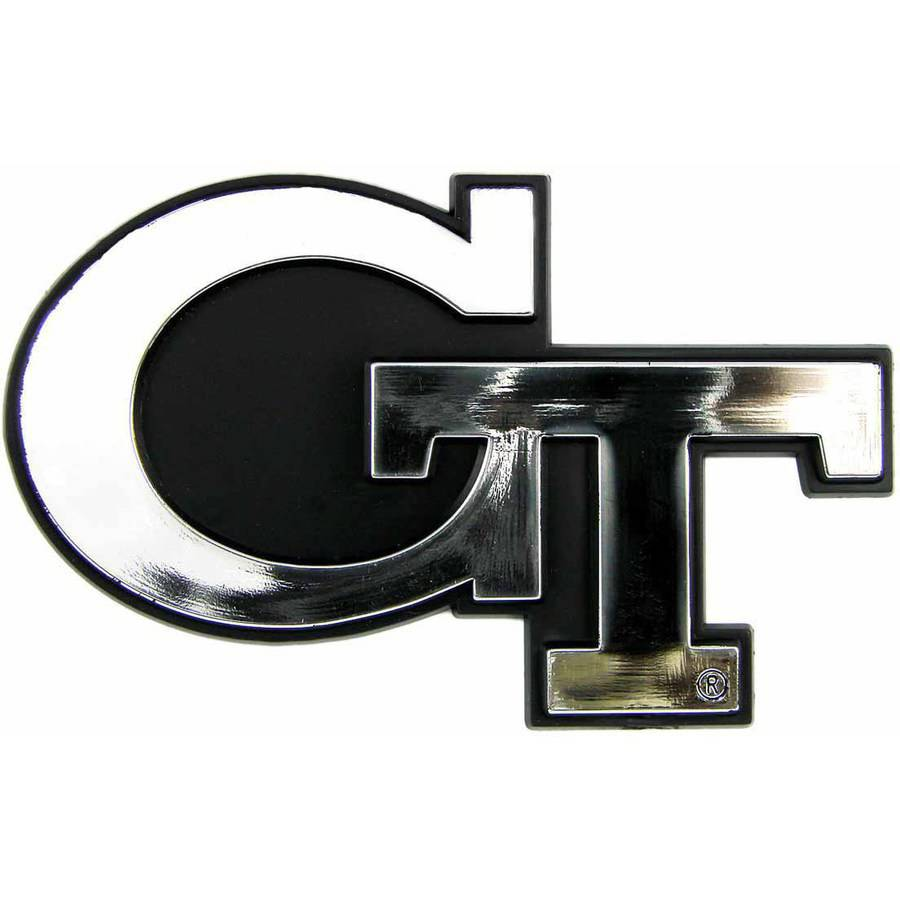 NCAA Georgia Tech Chrome Emblem