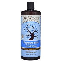 Dr. Woods Shea Vision Pure Castile Soap Peppermint With Organic Shea Butter - 32