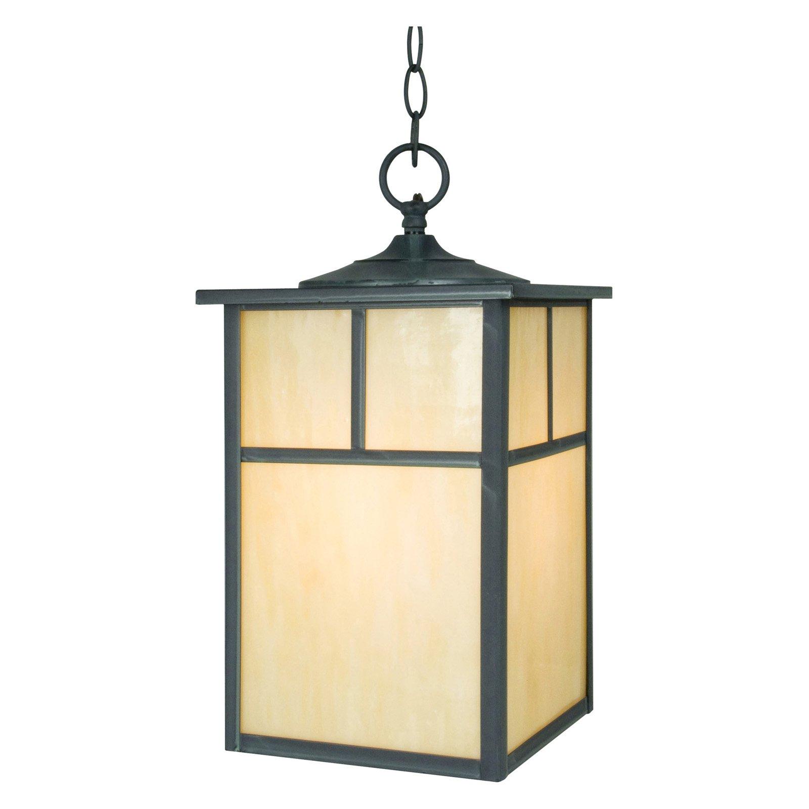 Maxim Craftsman Outdoor Hanging Lantern - 15H in.