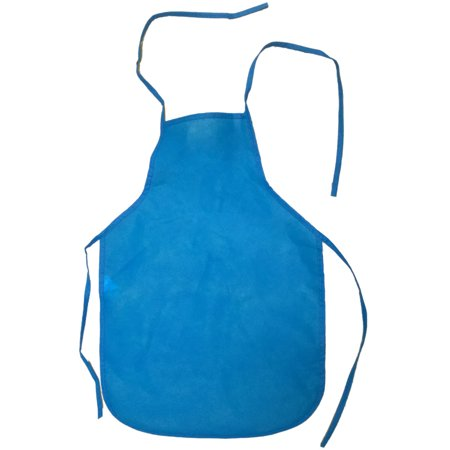 Child's Youth Blue Chef Food Crafting Activity Apron Party Costume Accessory Childrens Craft Apron