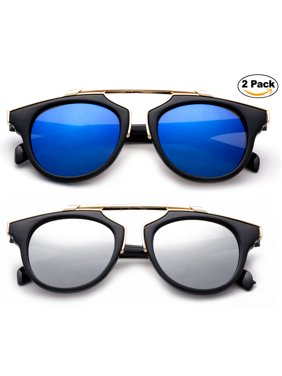467065f286f Product Image Newbee Fashion -Designer Inspired Kids Girls High Fashion  Sunglasses Unique Design Metal Bridge Plastic Frame