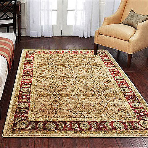Better Homes and Gardens Karachi Olefin Rug, Bisque