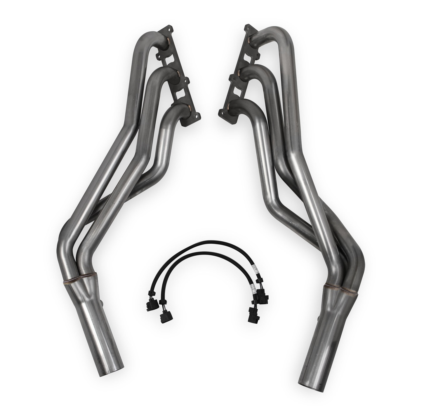 Hooker Headers 70103306-RHKR Blackheart Long Tube Headers; 1.625 in. x 2.5 in. Primary Tubing; Incl. 02 Sensor Extensions/Hardware; 304 Stainless Steel; Natural Finish;