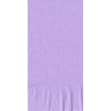 50 Plain Solid Colors Dinner Hand Towel Napkins Paper - Lavender