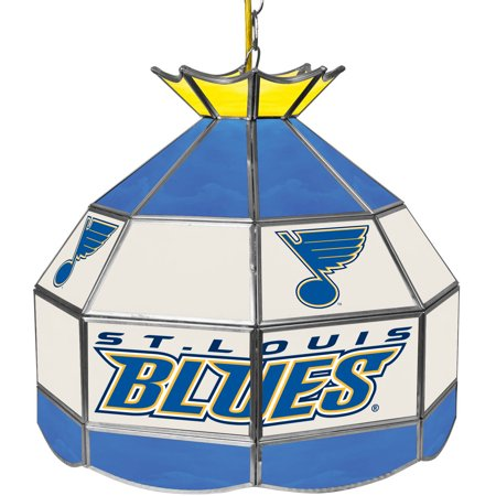 "NHL 16"" Handmade Tiffany Style Lamp, St. Louis Blues by"