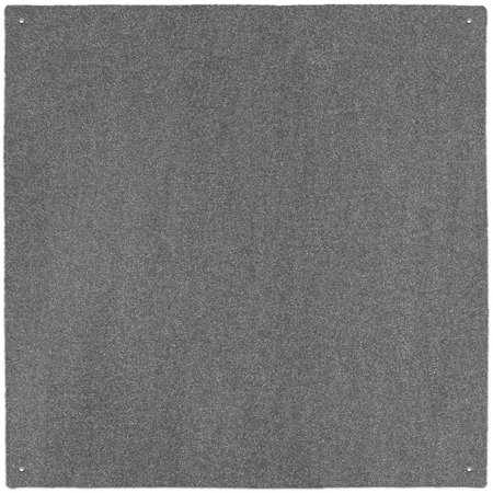 Outdoor Turf Rug - Gray - 10' x 10' - Several Other Sizes to Choose From ()