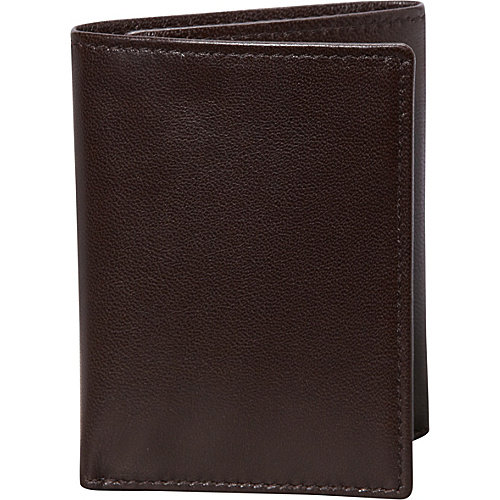 Budd Leather Nappa Soft Leather Trifold Wallet