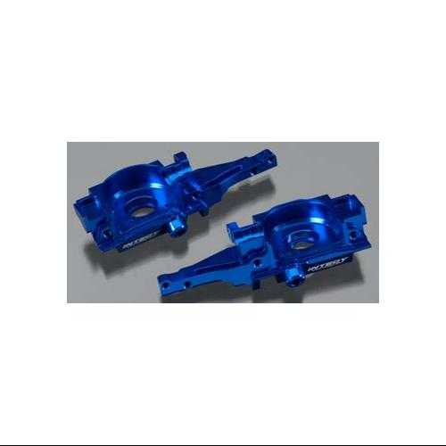 Integy T3489BLUE Billet Machined Rear Bulkhead, Blue for 1 16 Traxxas E-Revo, Sl by Integy