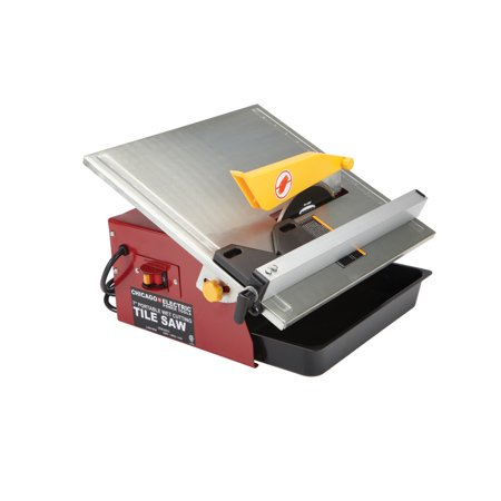 7 in. Portable Wet Cut Tile Saw (Best Way To Cut Tiles)