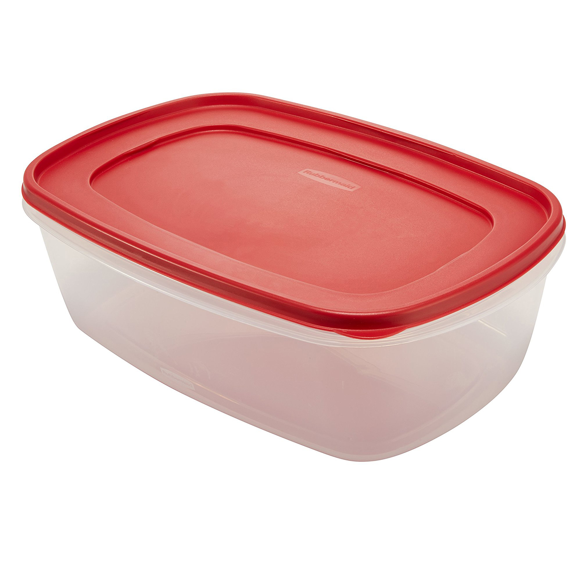 Rubbermaid Food Storage Container with Easy Find Lid, 2.5 Cup/0.59 Liter, Red