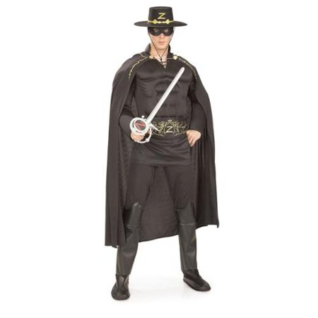 Men's Deluxe Zorro Costume - Toddler Zorro Costume