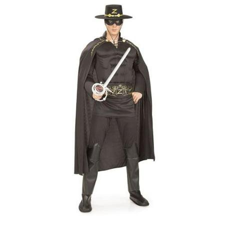 Men's Deluxe Zorro Costume - Deluxe Zorro Costume