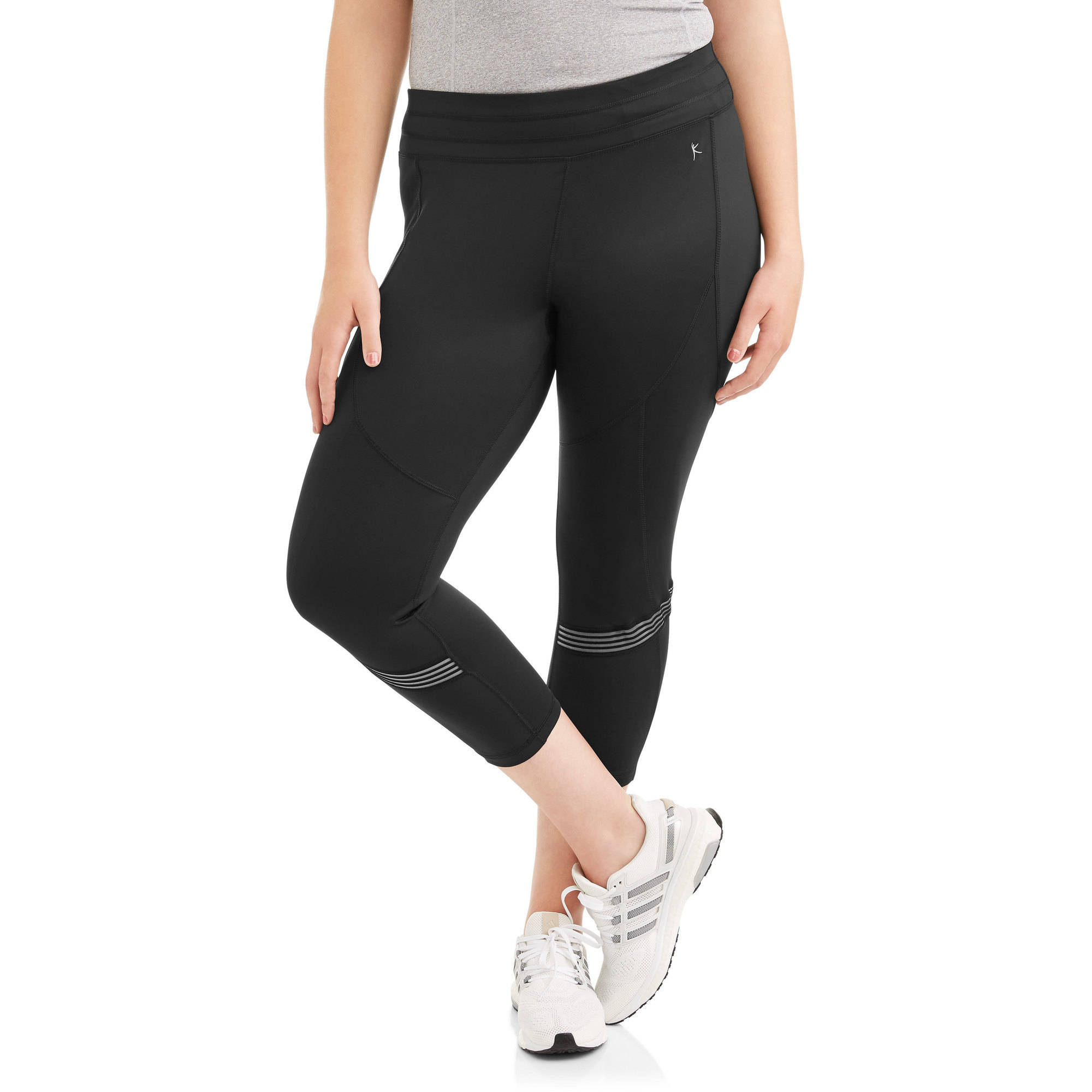 Danskin Now Women's Plus Fashion Capri