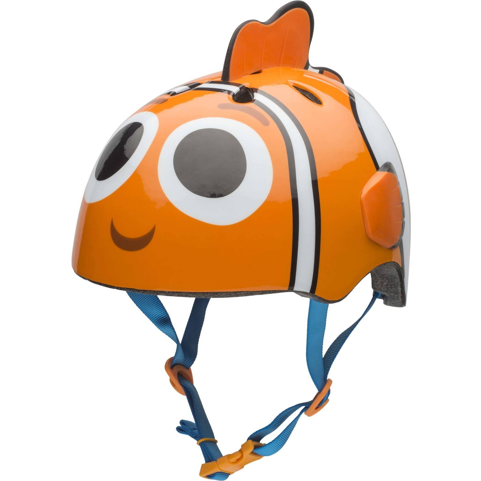 Bell Sports Disney Finding Dory Skate Bicycle Helmet Child 3D Nemo, Orange