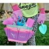 Kids Gardening Tools, Kids Gardening Gloves and Unicorn Watering Can- Unicorn Easter Gifts For Girls – STEM Outdoor Toys - Cute Birthday Gifts for Girls