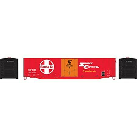 Ho 50 Plug Door (Athearn HO Scale 50' Plug Door Box Car Atchison, Topeka and Santa Fe/ATSF #5860 )
