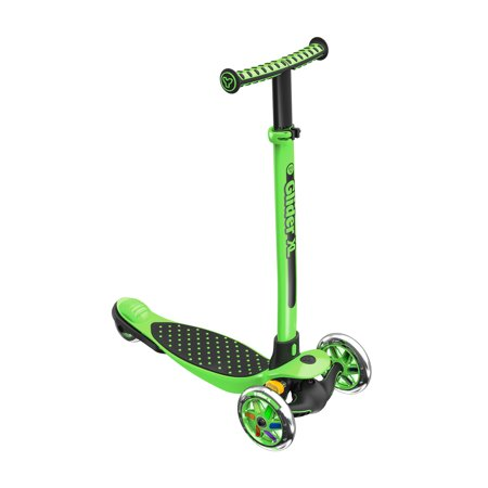 Legend Xl Scooter (OM- Yvolution Y Glider XL Adjustable Customizable 3 Wheeled Youth Scooter, Green )