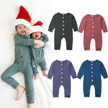 Kids Rex Com (Newborn Toddler Baby Boy Girls Romper Bodysuit Sunsuit Outfit Clothes)