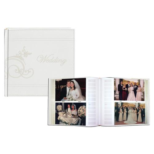 Pioneer Photo Albums Pioneer Embroidered Scroll Leatherette Photo 8-inch Album