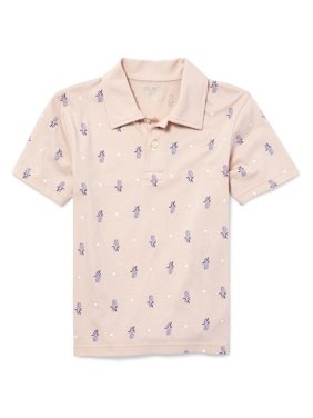 76f52c746 Product Image Short Sleeve Pineapple Print Polo (Big Boys)