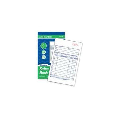 Adams Carbonless Sales Order Books - 50 Sheet[s] - 2 Part ...