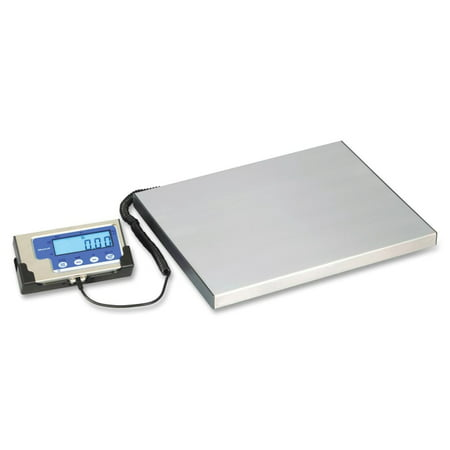Brecknell 400 Lb Portable Shipping Scale 400 Lb 181 Kg Maximum Weight Capacity White