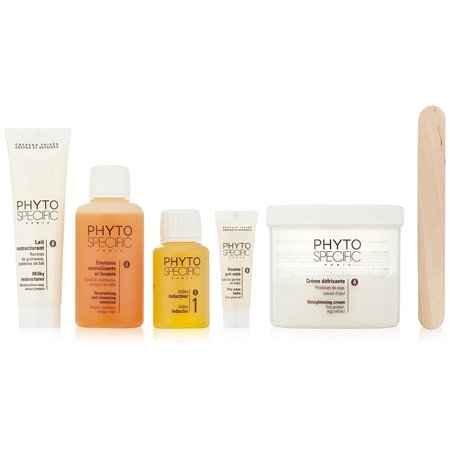 Phytospecific Phytorelaxer Index 1 Delicate & Fine Hair Kit by Phyto - 5 Pc Kit 0.33oz Pre-Care Balm, 7.60oz Straightening Cream, 2.02oz Index 1, 4.22oz Emulsion, 2.53oz