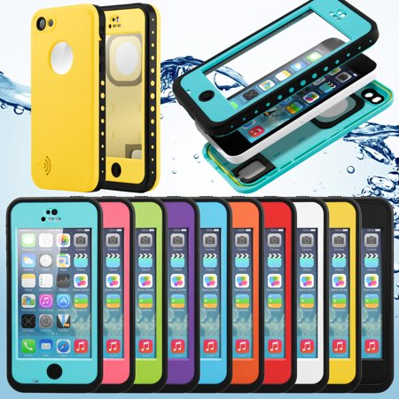 New 2016 Newest Waterproof Durable Shockproof Dirt Snow Proof Protective Case High Quality Cover For Apple iPhone SE 5C - Walmart.com