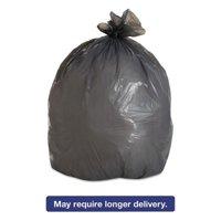 Boardwalk Gray Low-Density Trash Trash Bags, 30 gal, 100 count