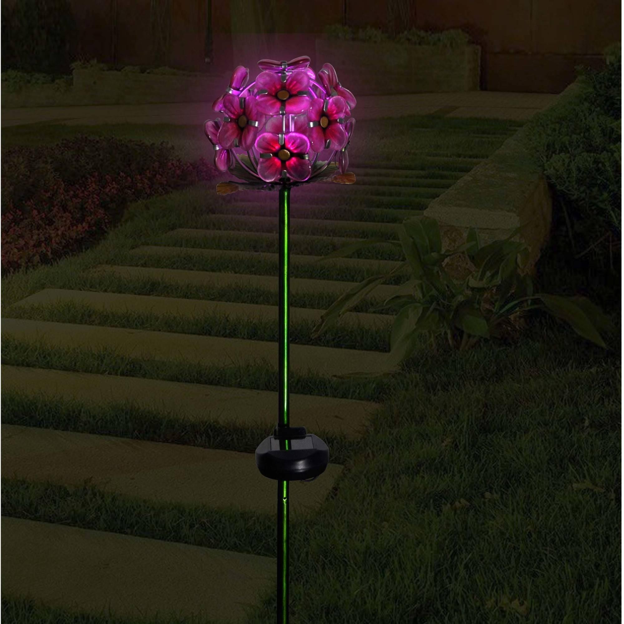 Better Homes & Gardens Hydrangea Stake, Pink