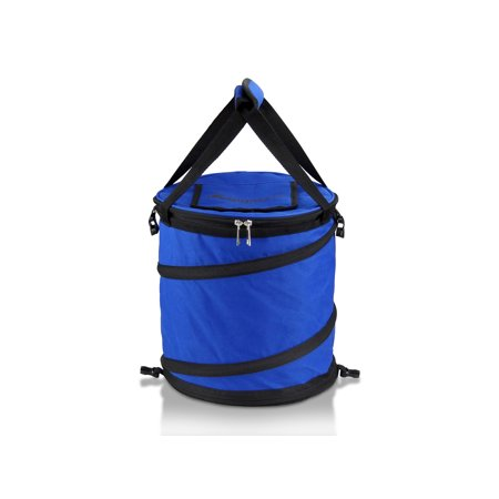 GigaTent JAMBOREE Portable POP UP Cooler – Perfect for Camping, Picnics and Travel Blue - Pop Up Cooler