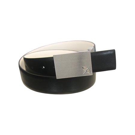 Arnold Palmer Golf Men's Reversible Leather Dimple Belt (Sizes 30
