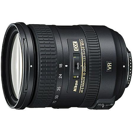 Nikon Nikkor 18-200mm Zoom Lens features VR II Image Stabilization f/3.5-5.6G, ED, AF-S (Used Nikon Lenses For Sale In Pakistan)