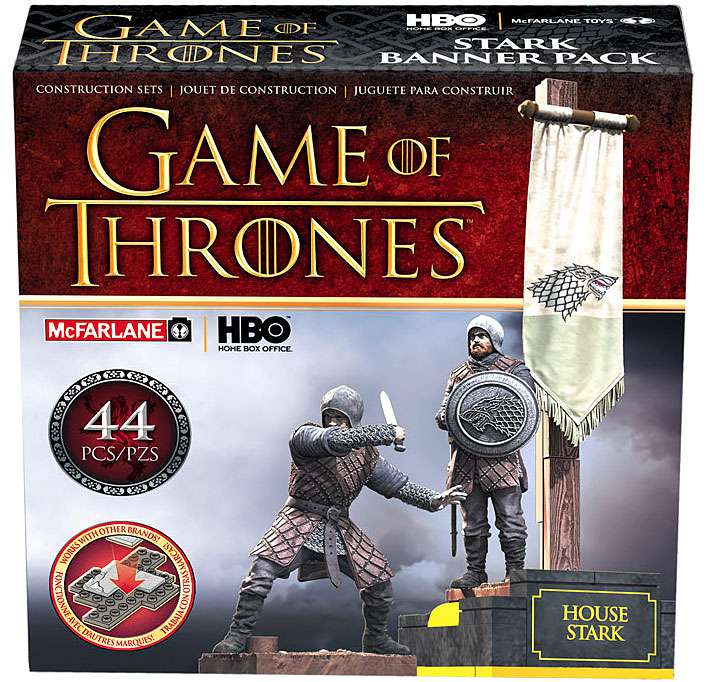 McFarlane Game of Thrones House Stark Construction Set
