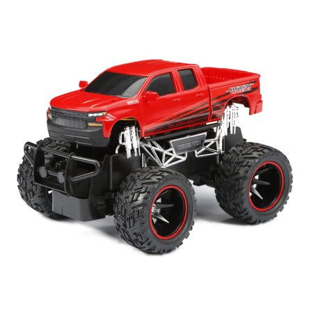 New Bright RC 1:24 Scale Silverado Trail Boss Radio Control Truck -