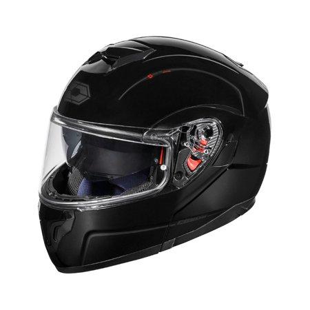 Castle Atom Sv Mens Modular Helmet Black