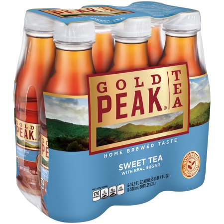 Smoke Iced Tea ((2 Pack) Gold Peak Sweet Tea, 16.9 Fl Oz, 6 Count)