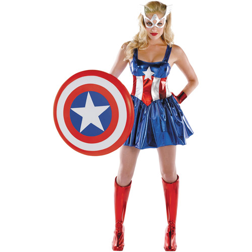 Captain America Dream Deluxe Adult Halloween Costume