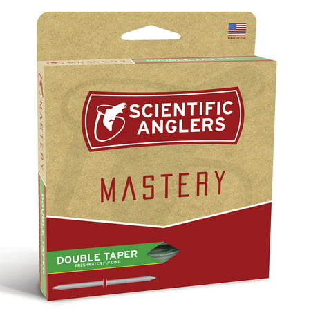 Scientific Anglers Mastery Double Taper Floating Dry-Fly Line - All Sizes (Scientific Anglers Mastery Uniform Sink)